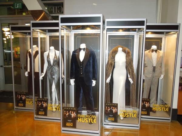American Hustle movie costume exhibit