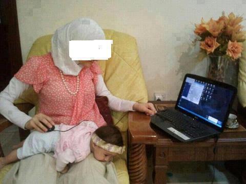 isteri gila internet, isteri melampau