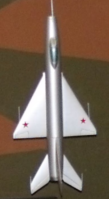 Sukhoi Su-9 Fishpot interceptor model