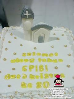 Kue Tart Ulang Tahun Gereja (REPET ORDER)