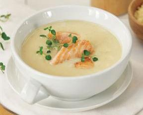 Sup Krim Salmon
