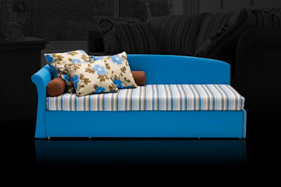Vibrant Sofa Bed by Milano Bedding , Home Interior Design Ideas , http://homeinteriordesignideas1.blogspot.com/