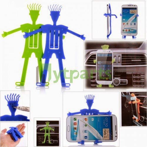 Silicone and Metal Slap Foldable Universal Stand Holder Universal
