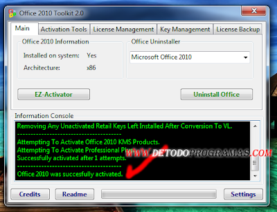 Activar Office 2010 Con Toolkit And Ez Activator | ZonaFollow