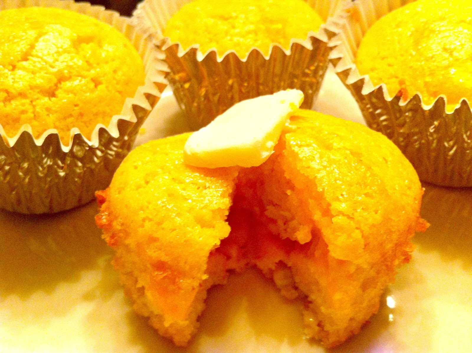 Cooking The Amazing: SWEET CORN CHEDDAR MUFFINS