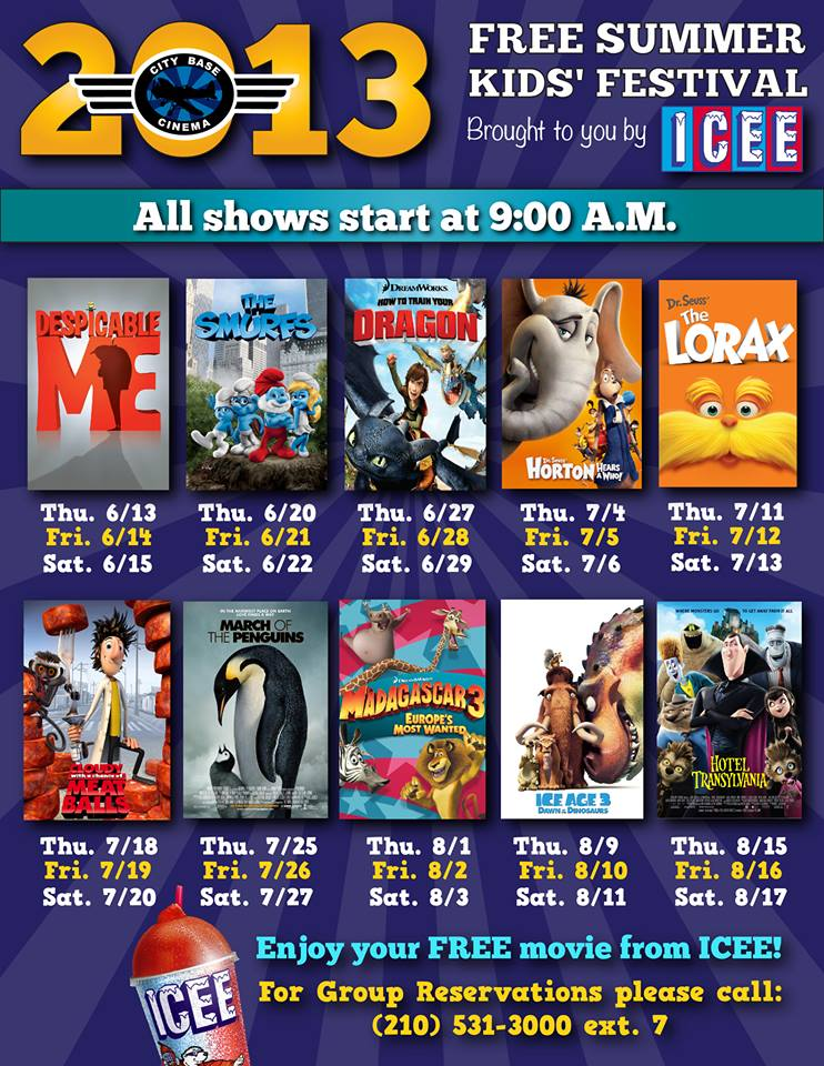What To Do In San Antonio: Free Summer Movies At City Base ...