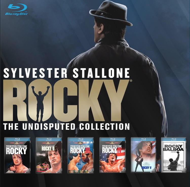 The New Cinema: ROCKY MOVIE COMPLETE COLLECTION