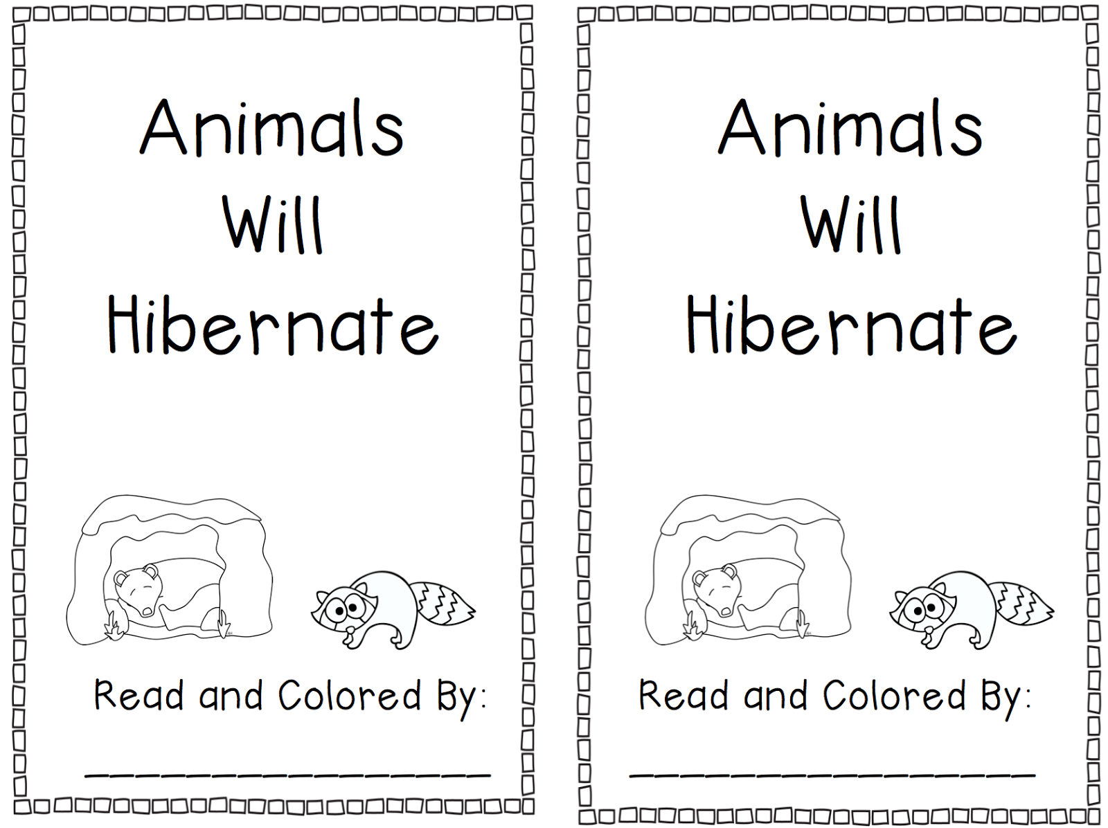 Animals That Hibernate Hibernation books past and