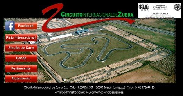 Circuito Zuera : M k karting entrenamientos colectivos en zuera para los