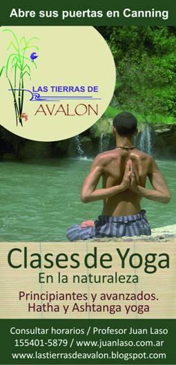 Las tierras de avalon clases de yoga - Clases de yoga en casa ...