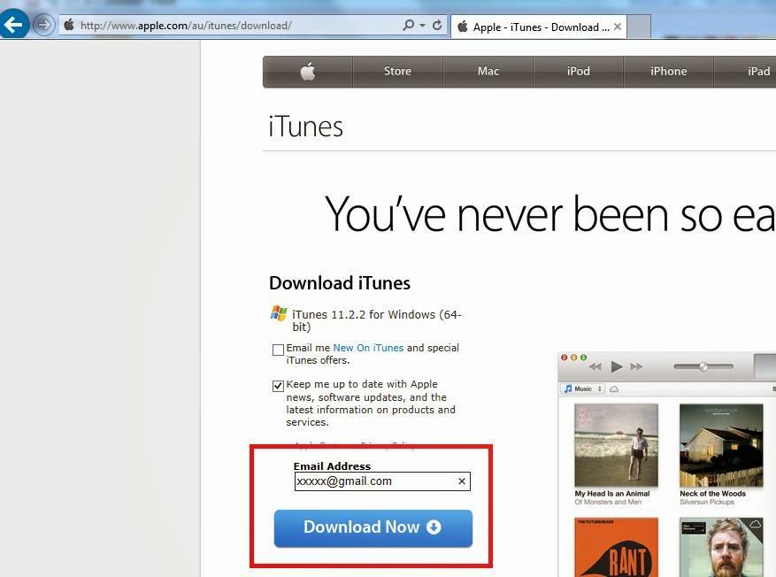 iTunes Windows requirements
