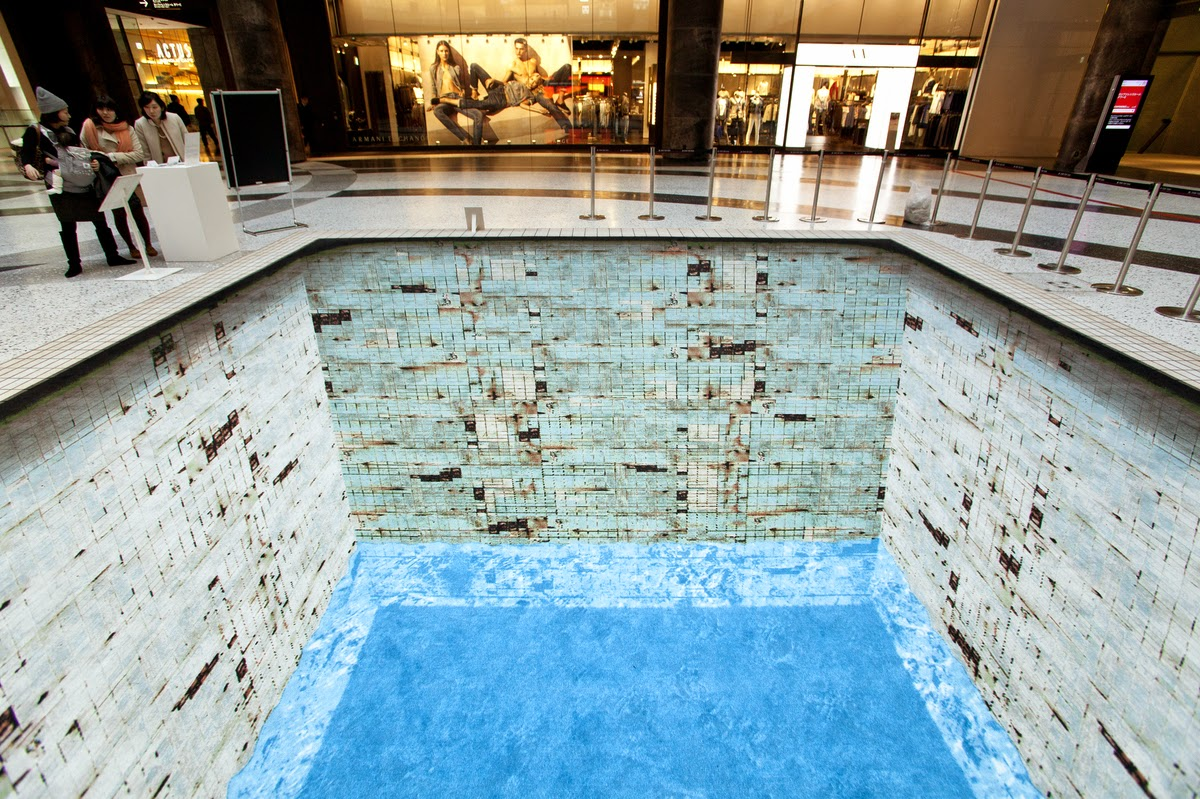 Optical Illusion Pool