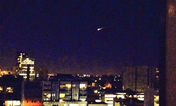Meteor Terang Lintasi Tenggara Australia pada 11 Juli 2014