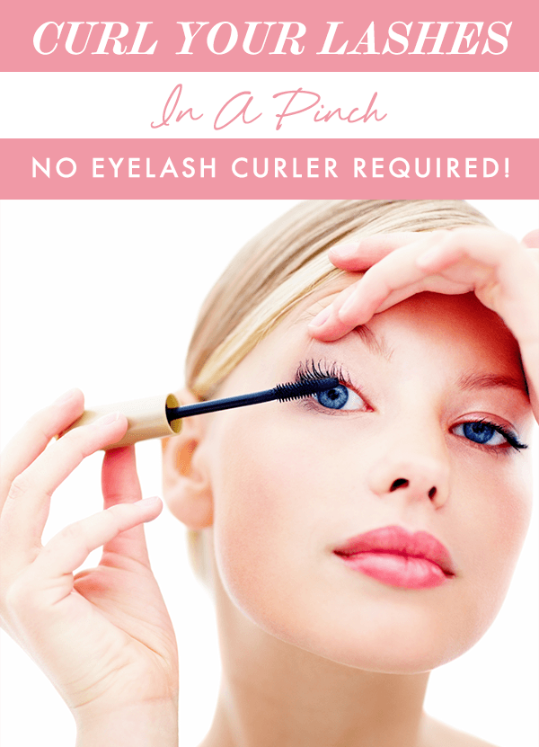 How to Curl Your Lashes in a Pinch