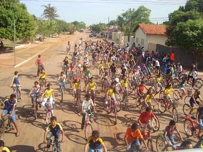 Passeio ciclístico mobiliza JM de Figueirópolis (TO)