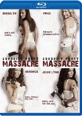 Filme Poster Sorority Party Massacre BRRip XviD & RMVB Legendado