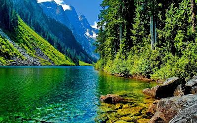Gambar Pemandangan Lembah Terindah