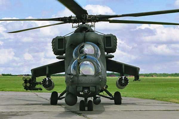 Heli serang Mi-35M