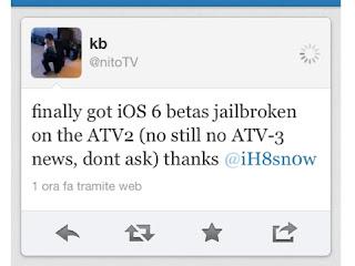 jailbreak iPhone iOS 6 beta 1 on Apple TV