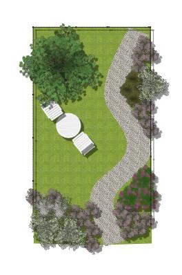 A garden project for Giardino rettangolare