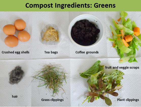 compost ingredients, urban farming