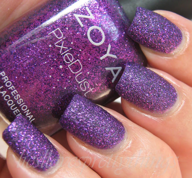 Zoya PixieDust Carter swatch and review