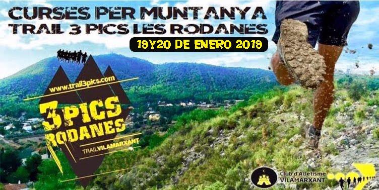 "Trail3Pics ""Les Rodanes"" Vilamarxant"