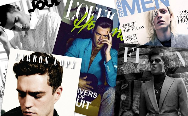 Men's Fashion Magazines Covers Spring 2013