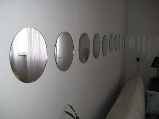 Imagens de Decoração com Espelhos Redondos