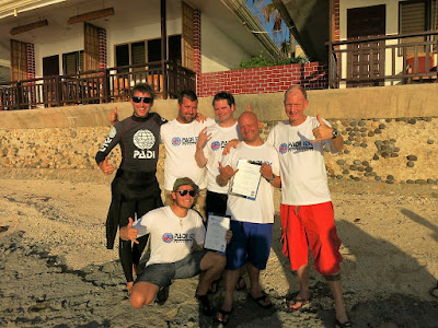 PADI IE in Moalboal, Philippines was very successful