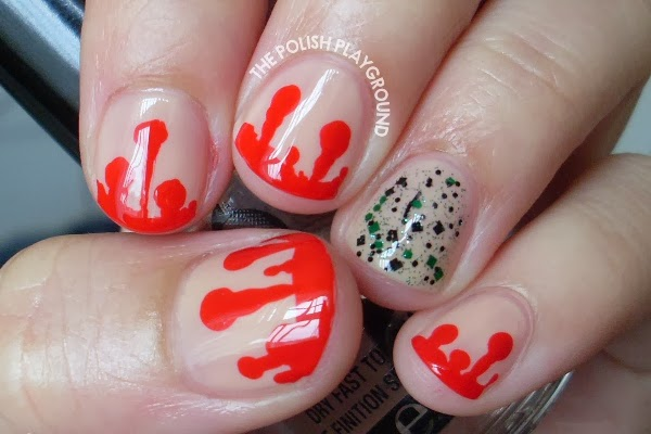 Dripping Blood Nails