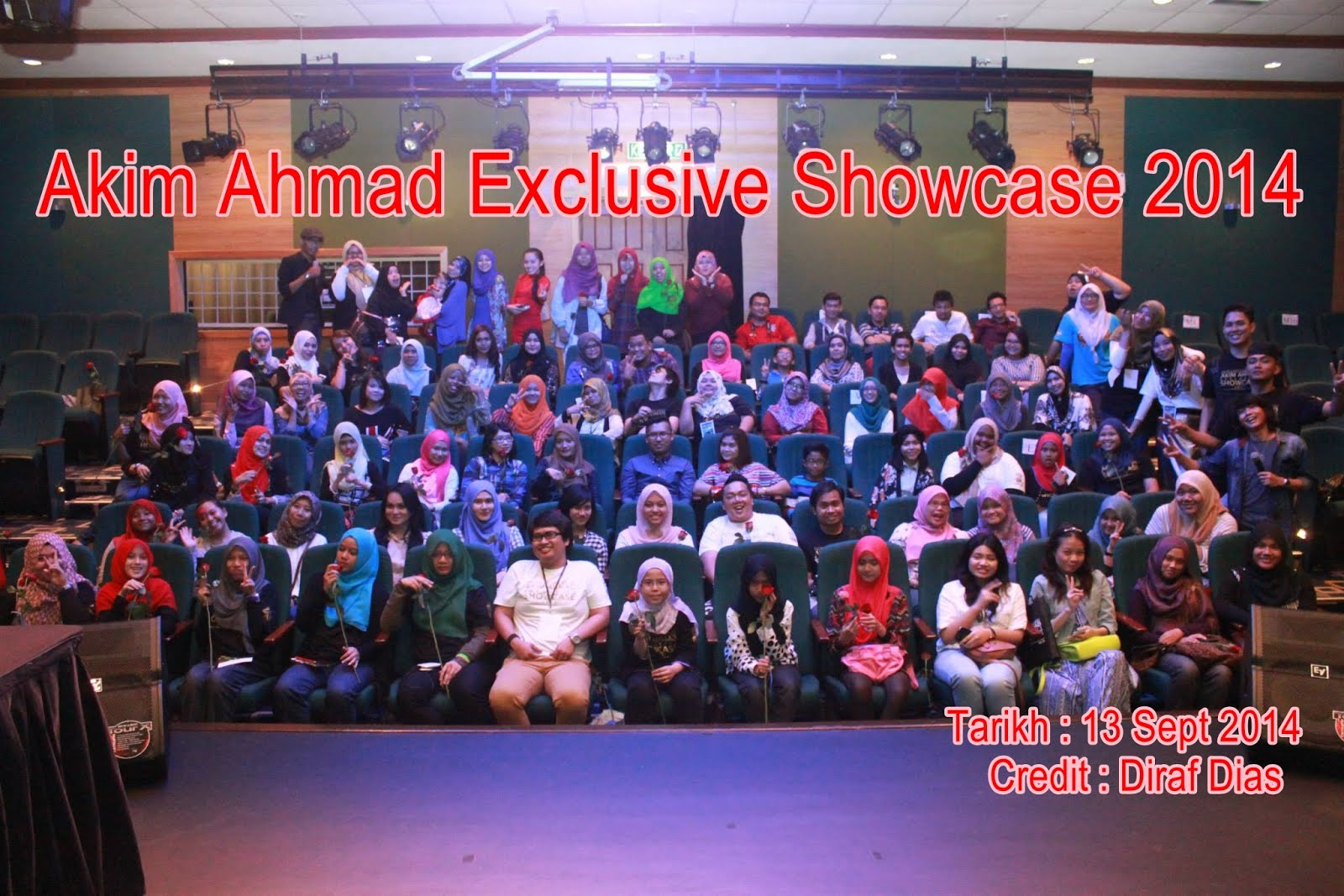 Akim Ahmad Exclusive Showcase 2014