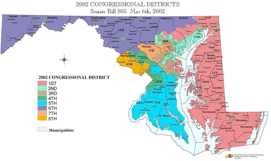 Maryland Redistricting Plan
