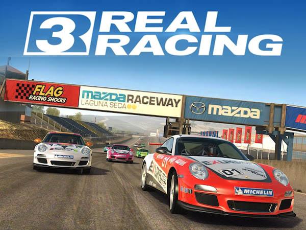 iPhone 5 dan Game Real Racing 3 dari EA Sports