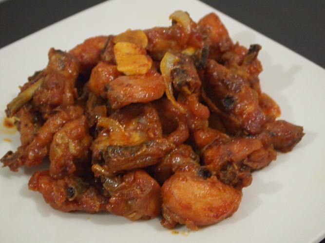 hardiana resep ayam goreng saus padang