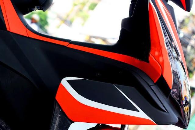 Sơn phối màu xe Air Blade cực đẹp