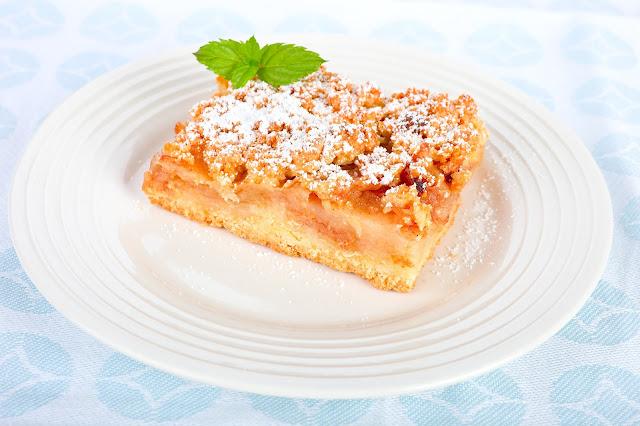 Rezepte für Apfelkuchen. Edyta Guhl.