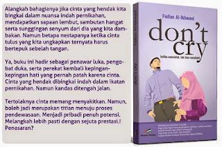 Don't Cry Ketika Mencintai, Tidak Bisa Menikahi
