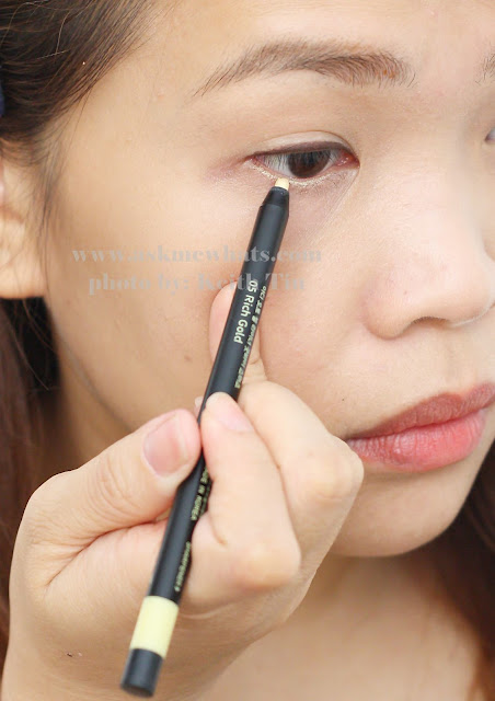 YADAH Auto Gel Liner Pencils photo on how to use