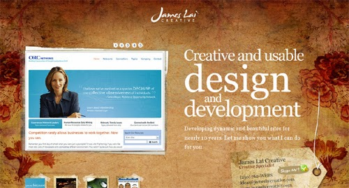 Colorful, Smart and Beautiful Web Designs Inspiration for Web Designer