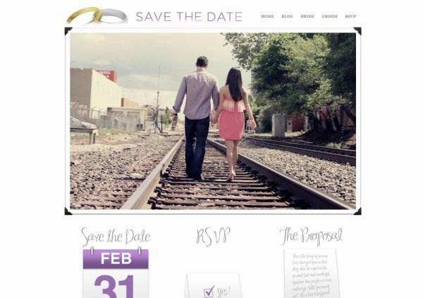 Save the Date Wedding Theme
