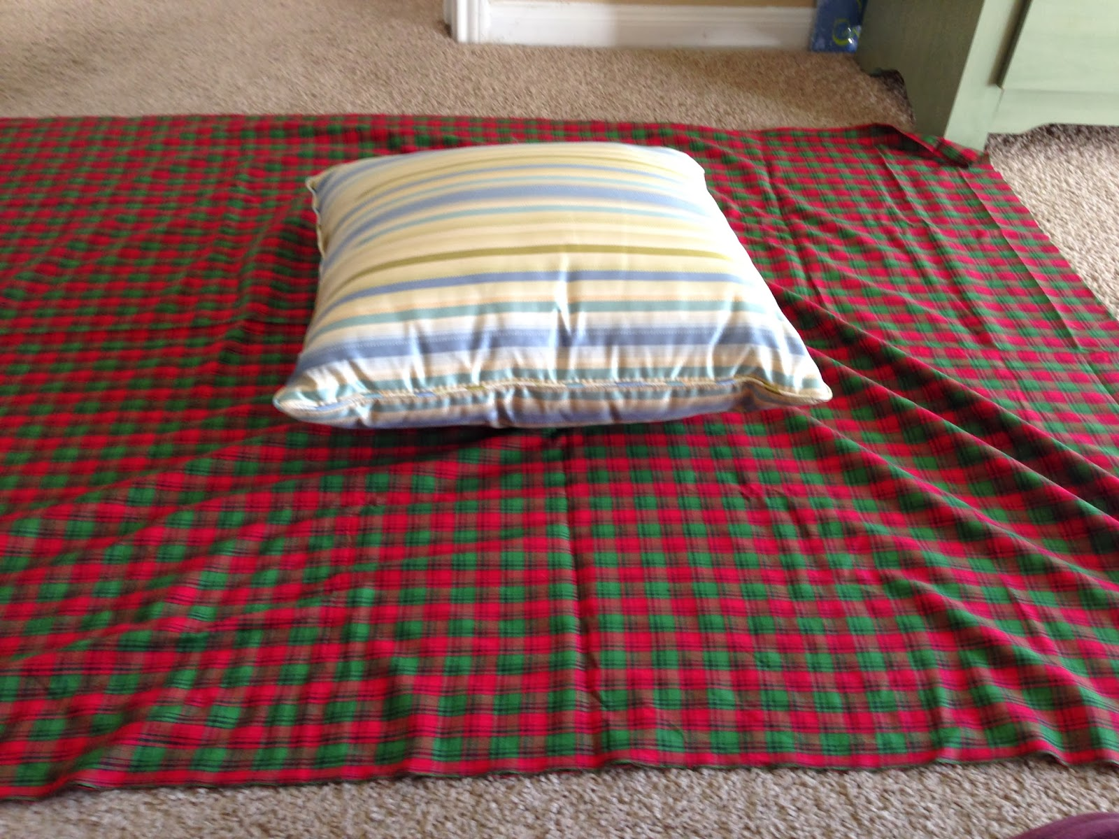 BLT: Breakfast, Lunch, and Travel: DIY: Christmas Pillows