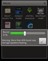 увеличить звук на андроиде
