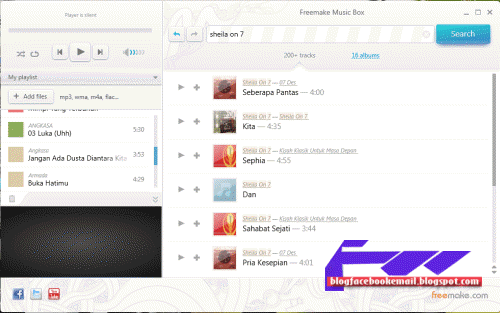 download pemutar musik freemusicplayer