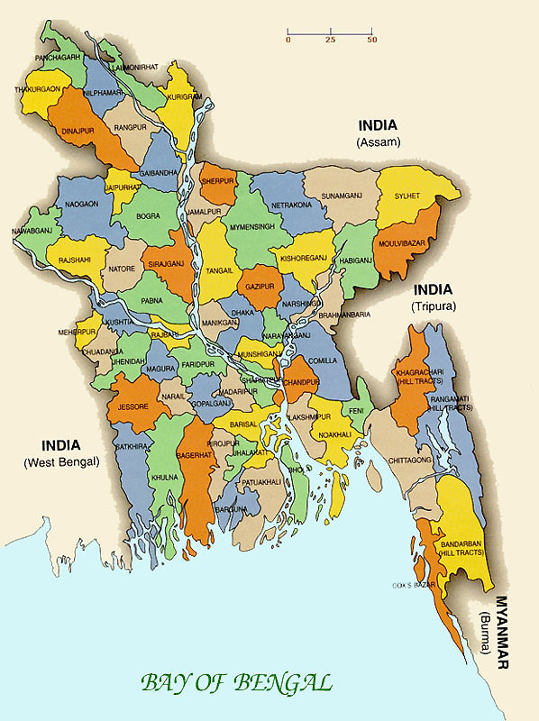 Full Map Of Bangladesh ~ Online News
