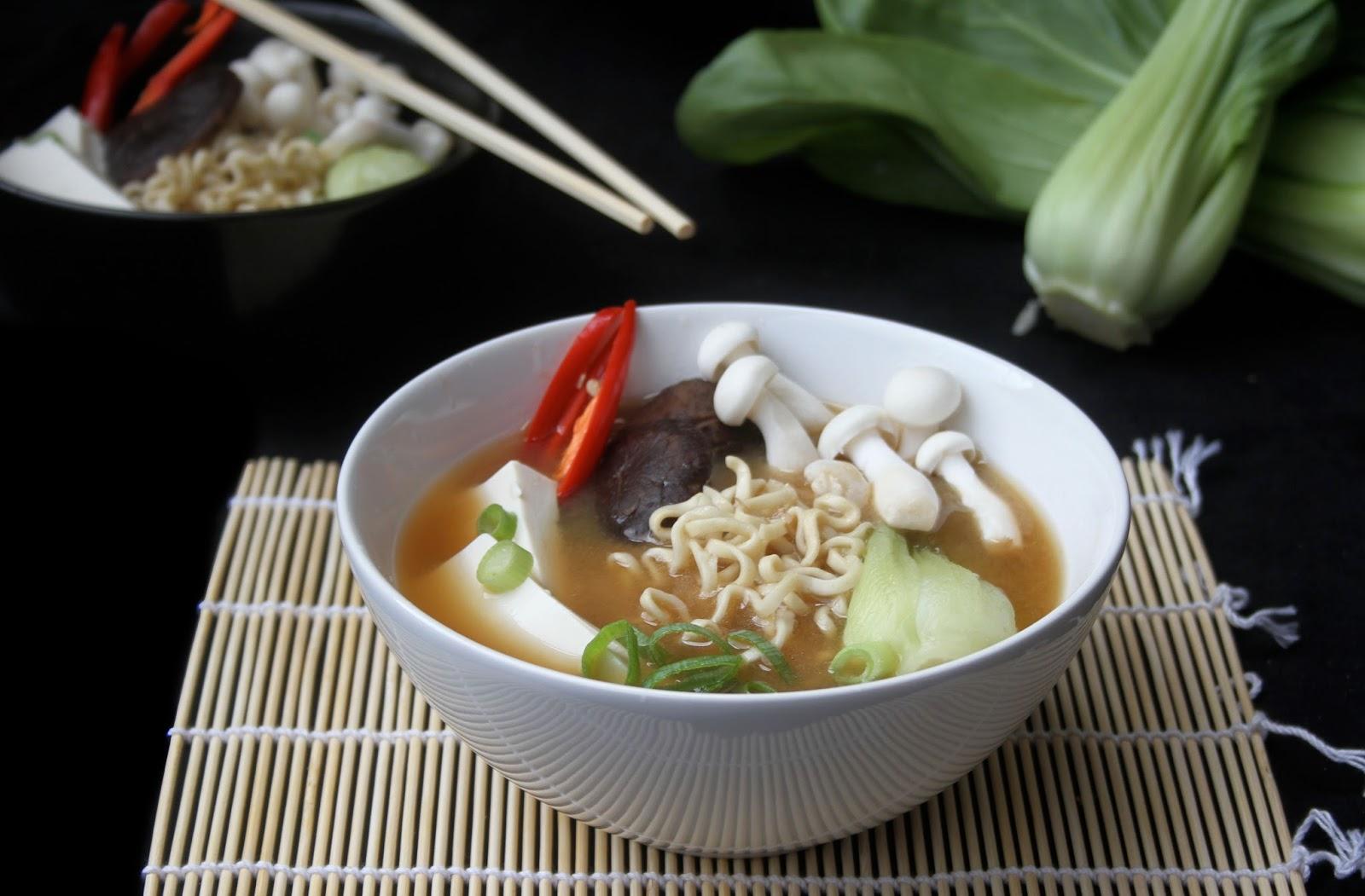Amapola el mundo en un plato sopa de miso - Como hacer sopa de setas en minecraft ...