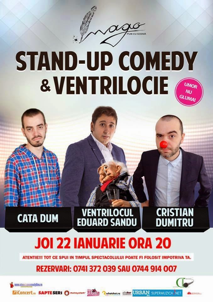 Stand-Up Comedy & Ventrilocie