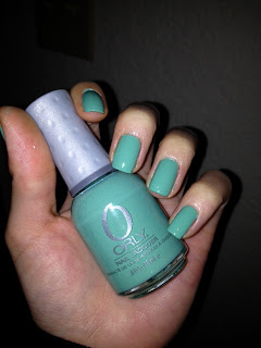 orly ancient jade swatch