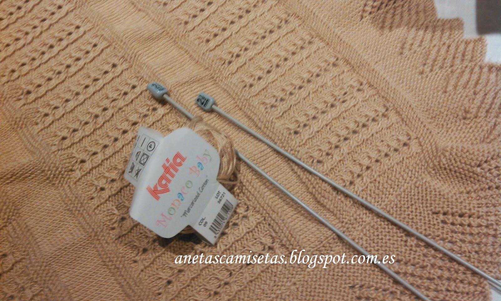Batones con Encanto: TUTORIAL. Colcha para carrito de bebé. Tejida a