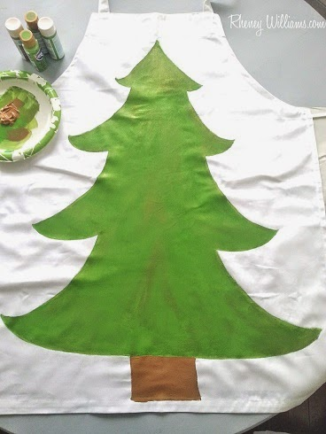 christmas tree diy costume step 2